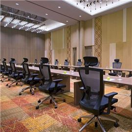 Board room with chairs