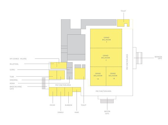 Map of facilities