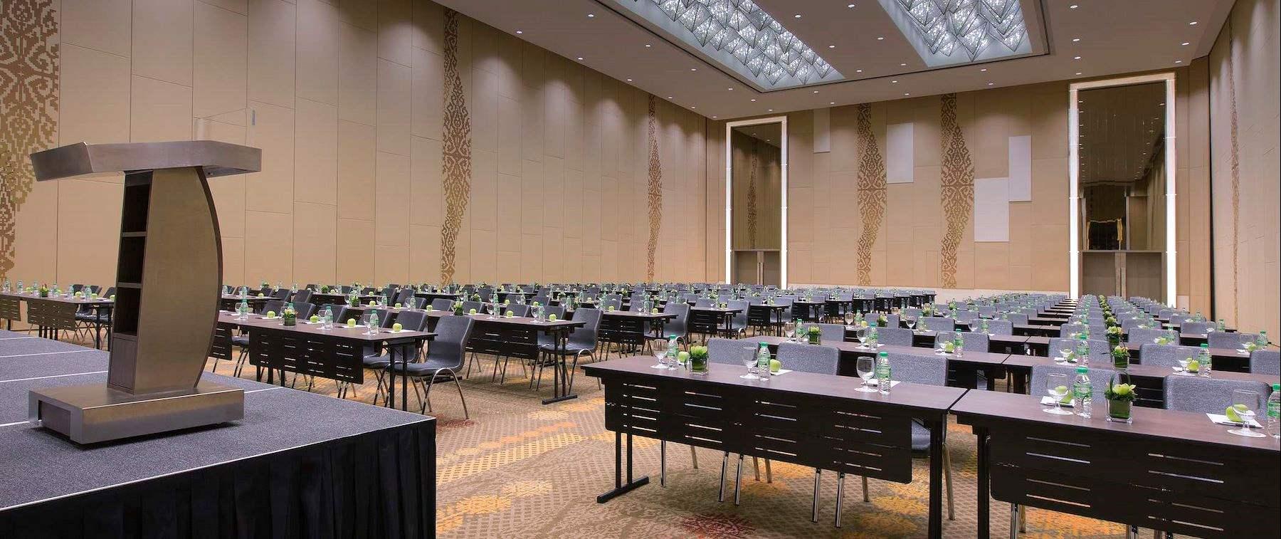 Speaker conference area